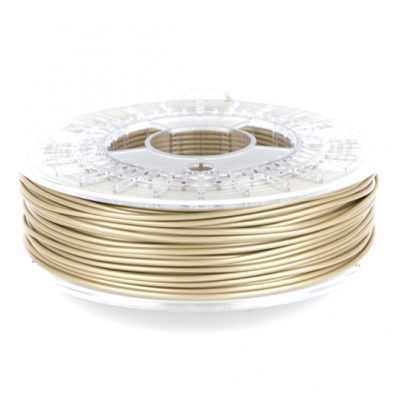 pale gold pla 3D printer filament from colorfabb