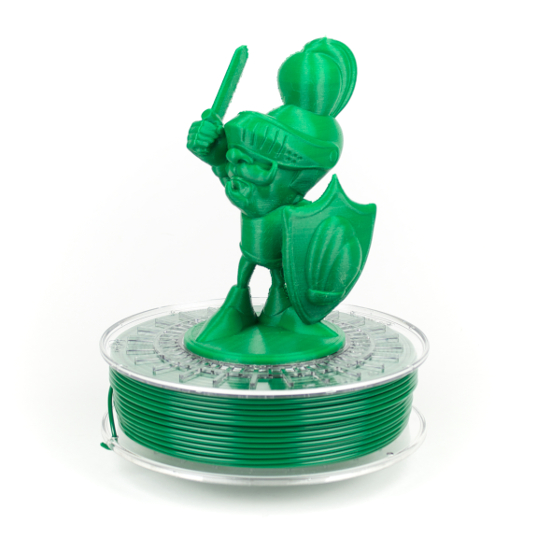 Dark Green XT colorfabb food contact compliant 3D printer filament