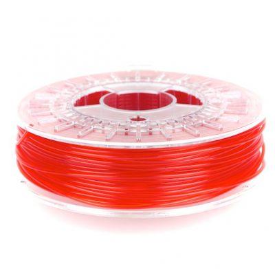 transparent red colorfabb PLA filament