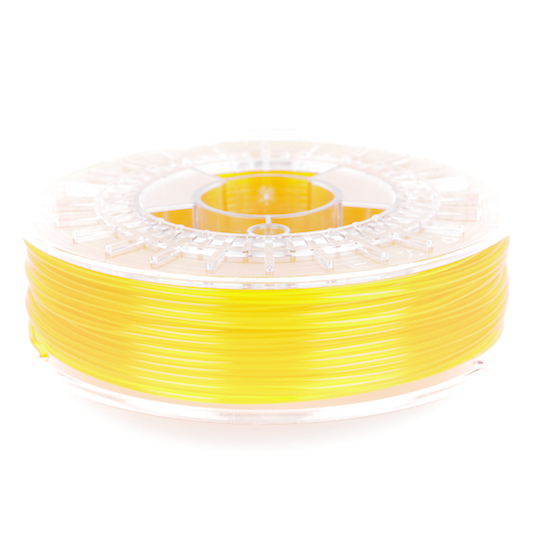 transparent yellow colorfabb 3D printer filament