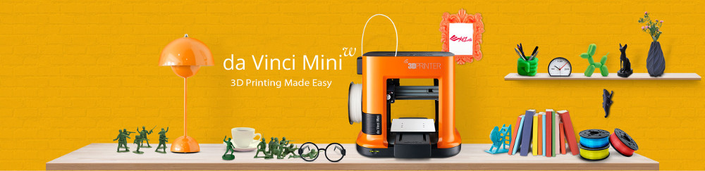 XYZ printing Da Vinci Mini desktop 3D printer is ideal for the home