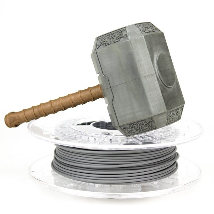 SteelFill Colorfabb metal filament in 1.75mm & 2.85mm diameters