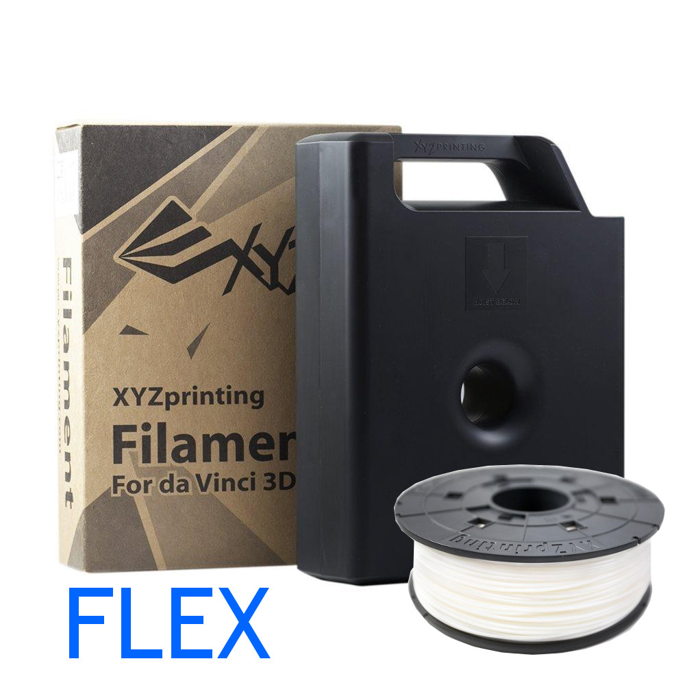 Flexible Da Vinci 3D printer filament by XYZ printing