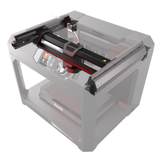 Makerbot Replicator+ improved construction