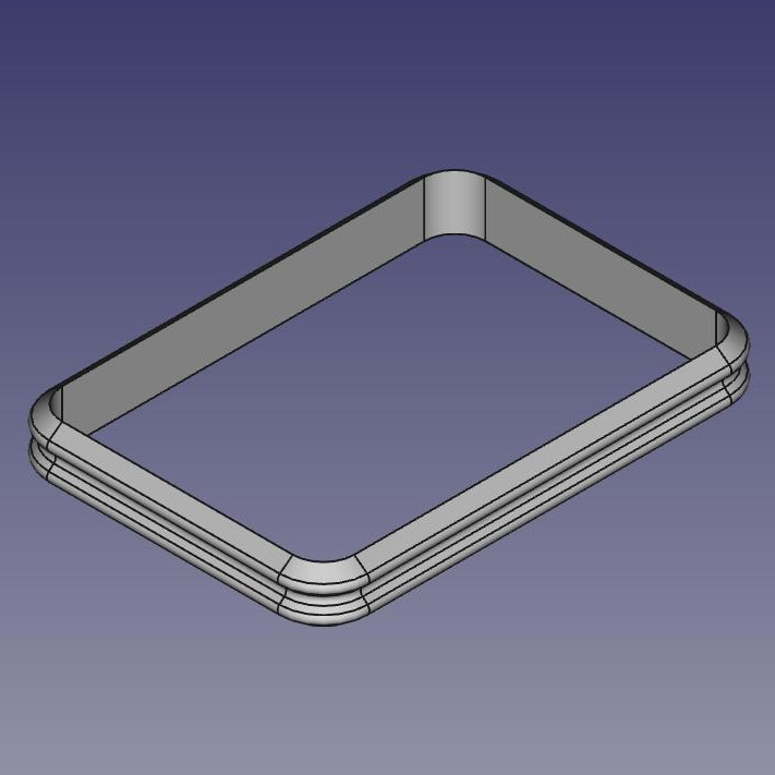 3D model of a molex seal for printing with ColorFabb nGen Flex