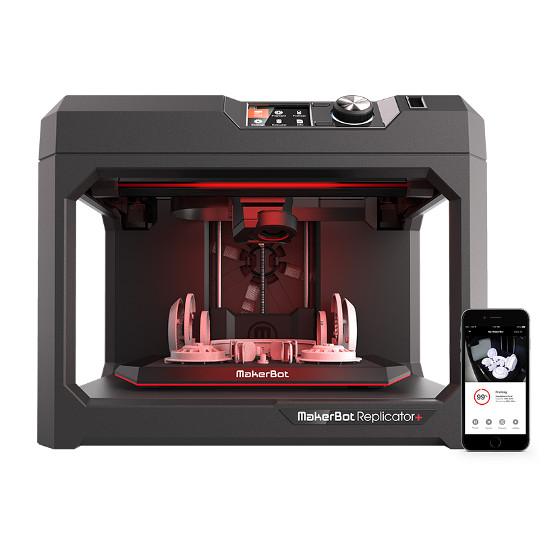 The New Replicator+ 3D printer