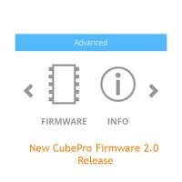 CubePro 3D printer Firmware Upgrade