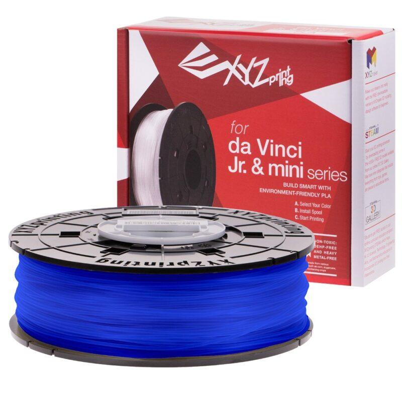 XYZ printing Da Vinci Junior Blue PLA