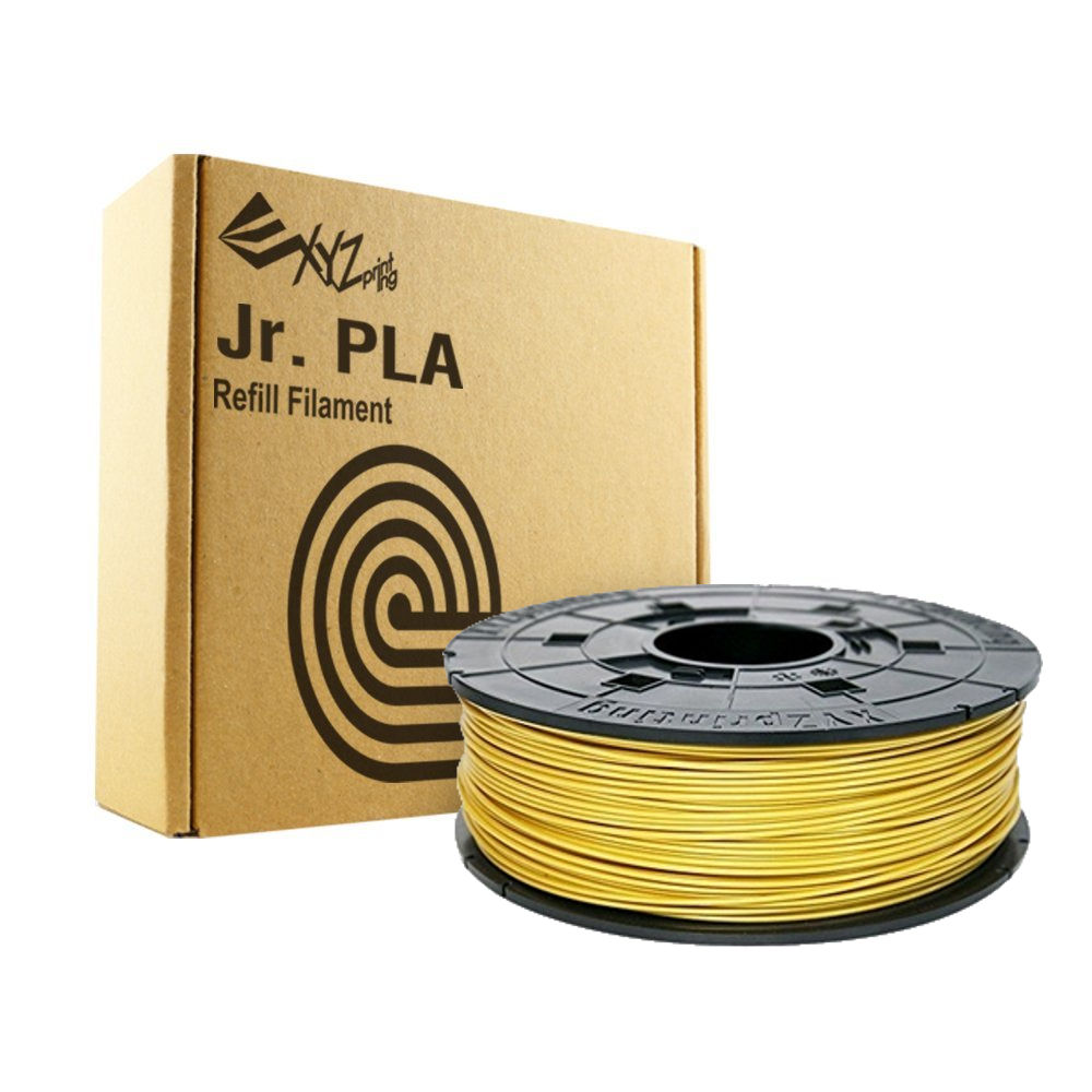 Gold Da Vinci Jr Filament for XYZ Davinci Junior 3D printers