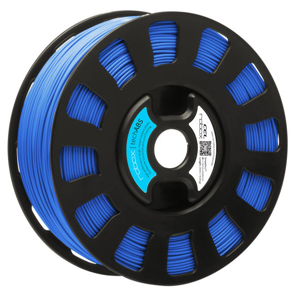 Blue TechABS filament for the Robox 3D printer