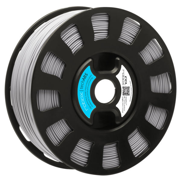 Grey TechABS filament for the robox 3D printer