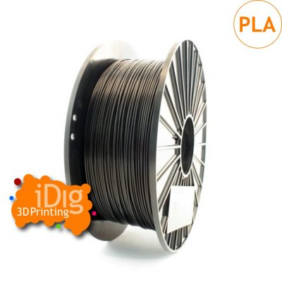 premium grade black pla 3d printer filament