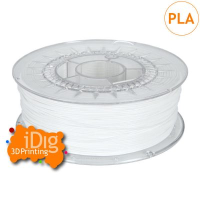 Quality white ingeo pla 3d printer filament