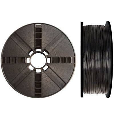 True color black Makerbot ABS filament for the makerbot replicator 2x