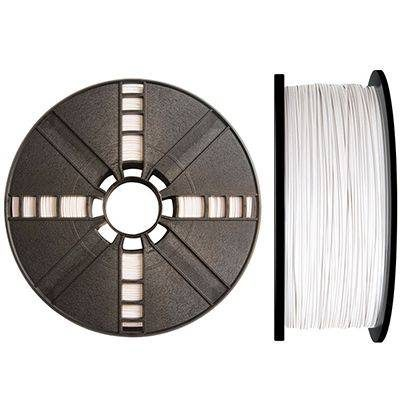 True Color White Makerbot ABS filament - 1kg spool of 1.75mm premium ABS 3d printer filament for the Makerbot replicator 2x