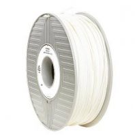 White Verbatim ABS filament in 1.75mm or 2.85mm diameters