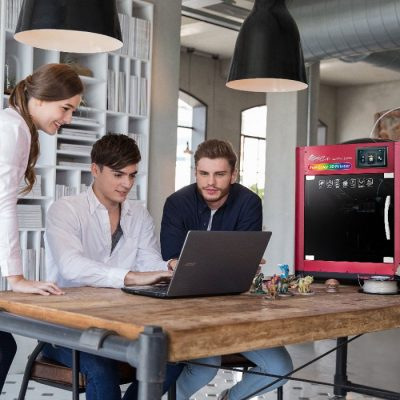 The Da Vinci Color 3D printer is great for designers in the office and in the classroom