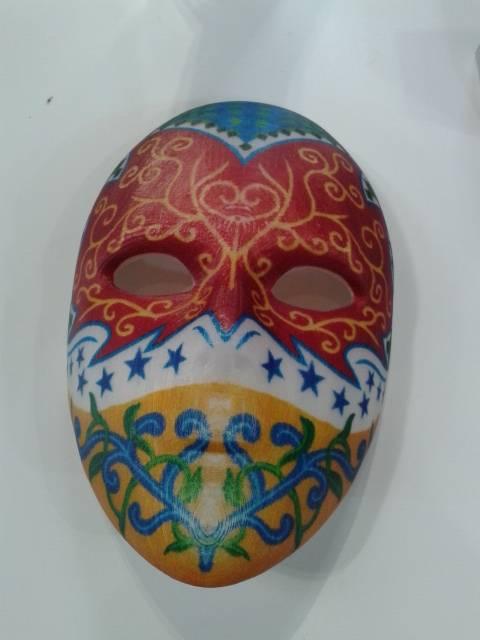 full colour mask printed on the Da Vinci Color