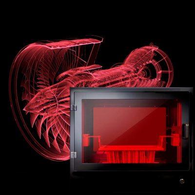 The photocentric liquid crsytal pro large format daylight resin dlp 3d printer