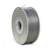 Silver Verbatim ABS 3D printer filament in 1.75mm and 2.85mm diameters