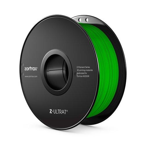 Green Z-UltraT Zortrax filament