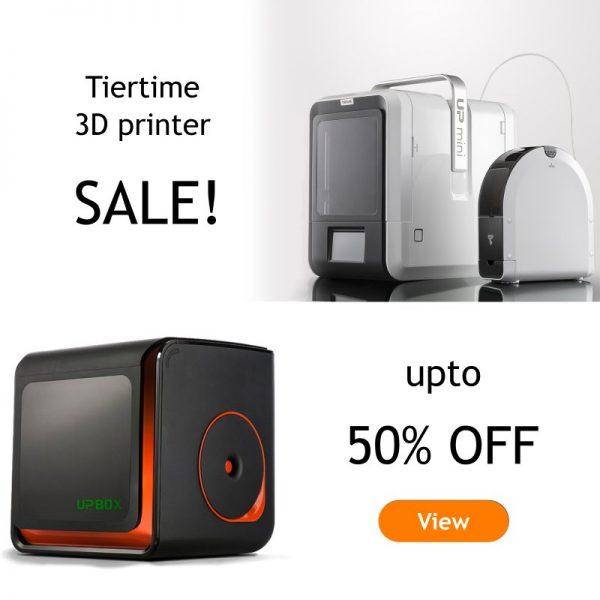 Tiertime 3dprinter sale