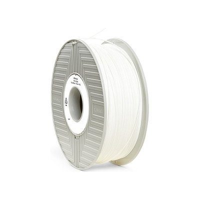 White verbatim pla filament in 1.75mm and 2.85mm diameters