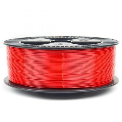Red PETG Colorfabb economy 3D printer filament