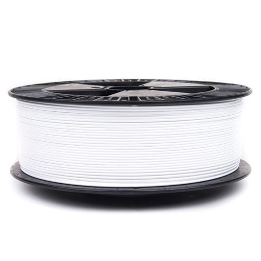 White PETG Colorfabb Economy 3D printer filament