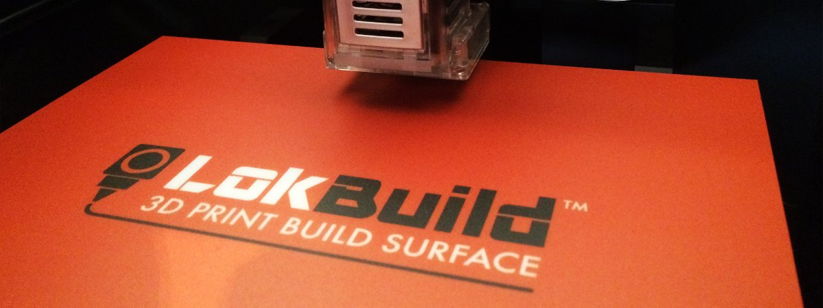 LokBuild Print surface reduces warping