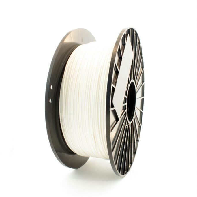 White nylon filament - great for 3D printing functional prototypes