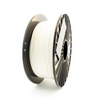 White ASA 3D printer filament from iDig3Dprinting