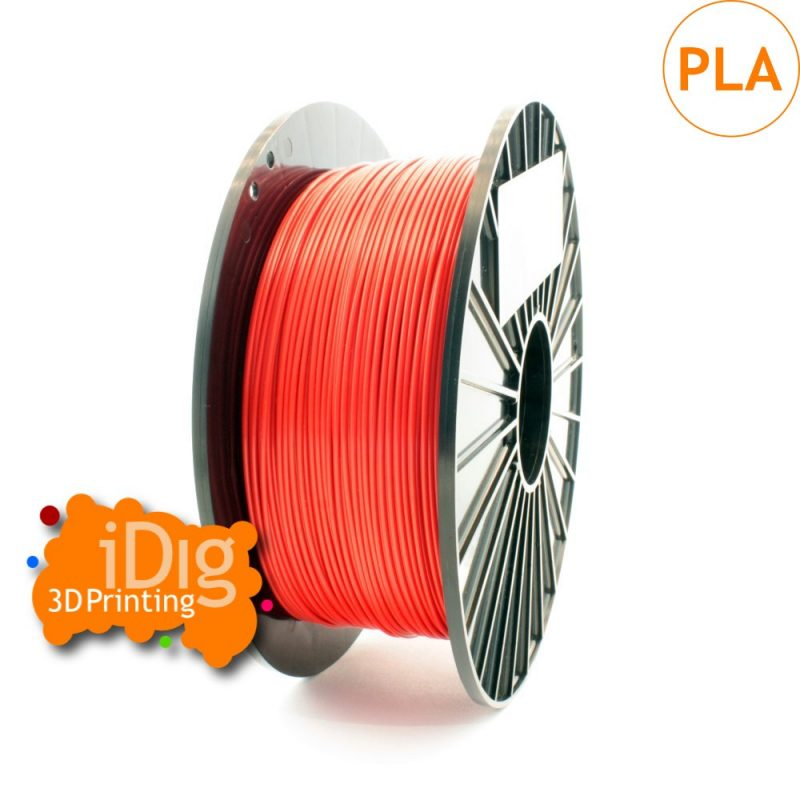 1kg spool of Fire red pla 3D printer filament