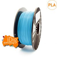 sky blue pla filament - high quality for consistent 3d prints
