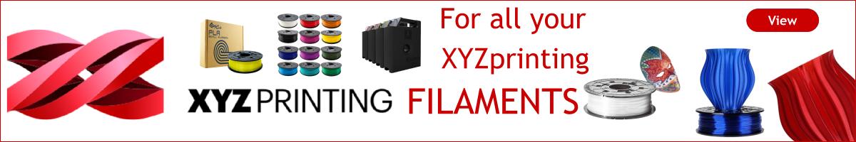 Browse for your XYZ printing Da Vinci 3D printer filament