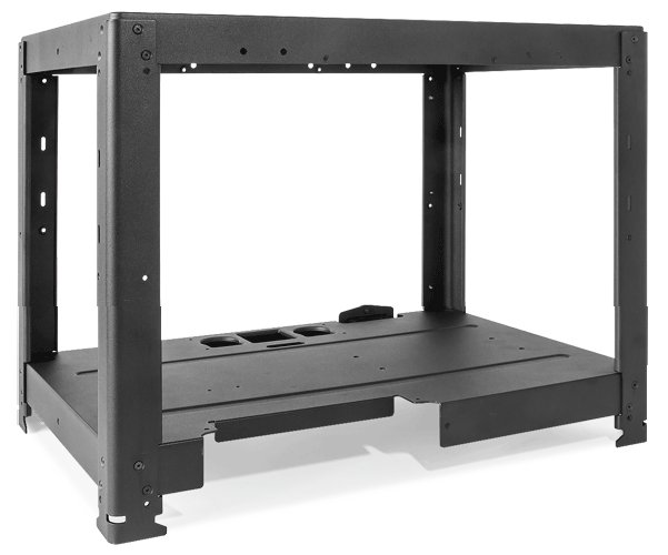 The flashforge creator pro 3D printer is built with an all metal frame