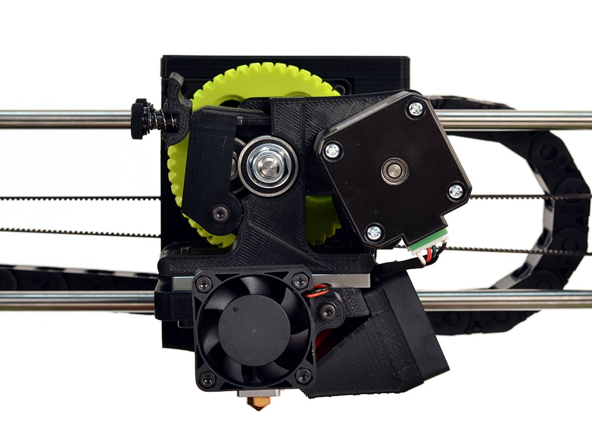 Lulzbot mini 3d printer extruder