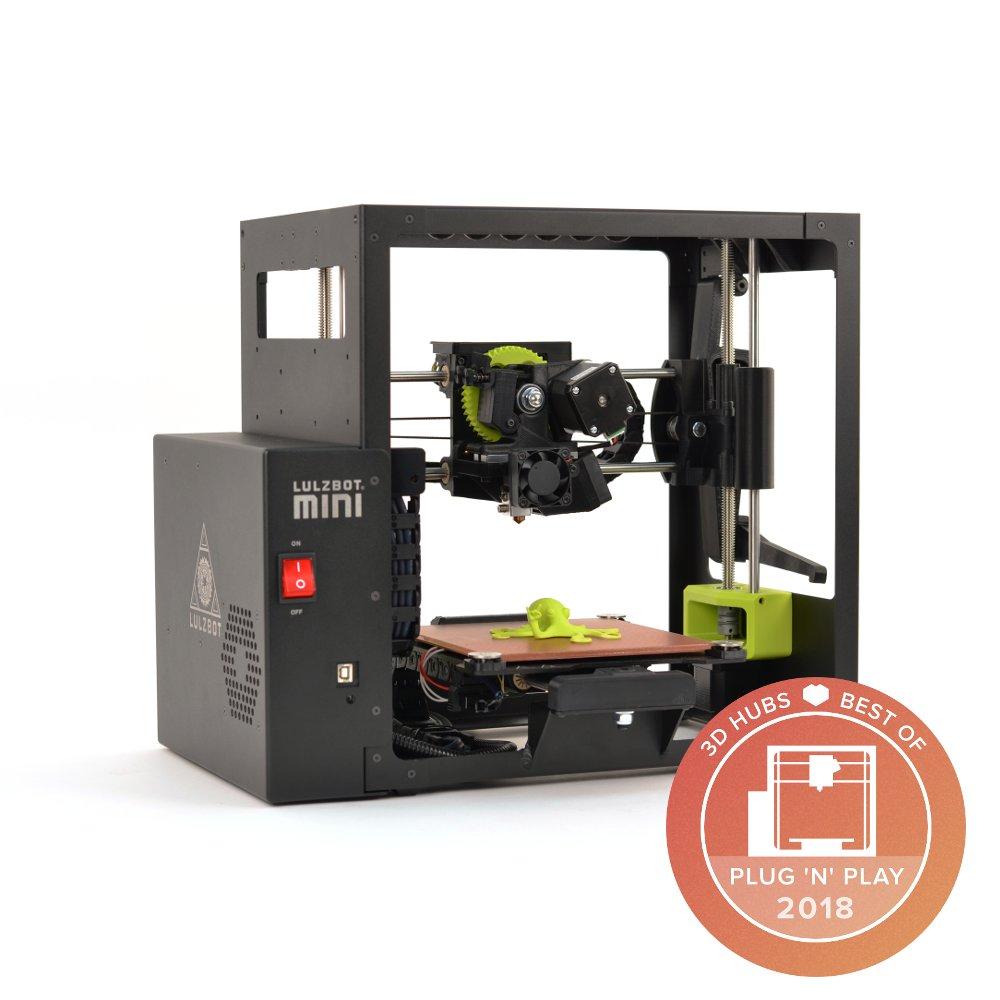Lulzbot mini award winning 3d printer
