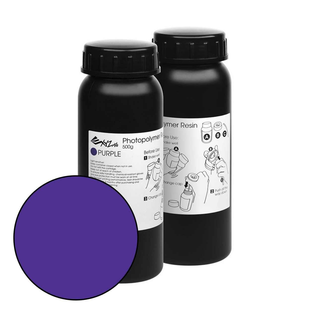purple nobel superfine standard E1 resin
