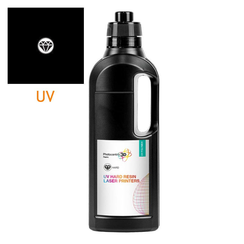 Photocentric hard black resein for SLA and DLP printers