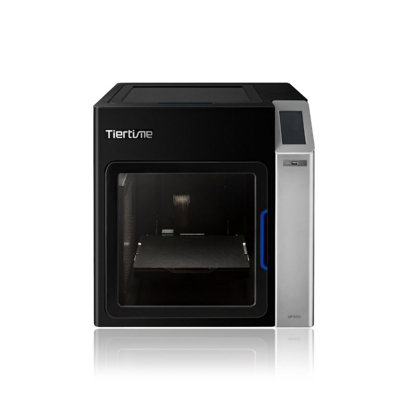 Front view of the Tiertime UP300 large volume 3D printer