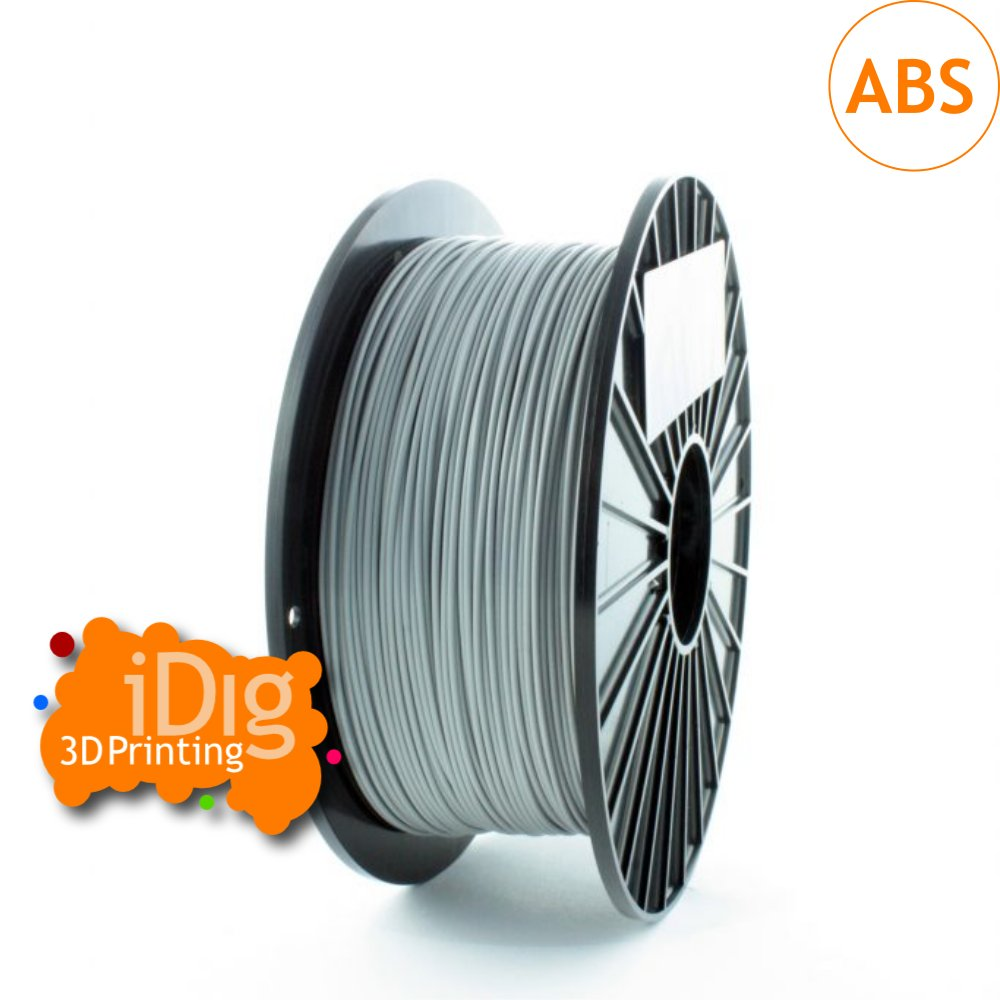 iDig3D grey ABS 3dprinter filament