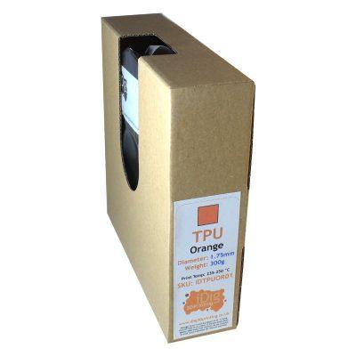 300g Orange TPU flexible filament