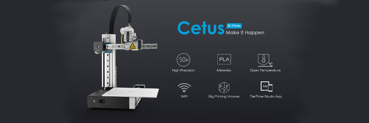 The Tiertime Cetus MKII 3D printer kit