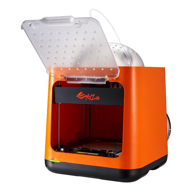 The Da Vinci Nano features an enclosed build area