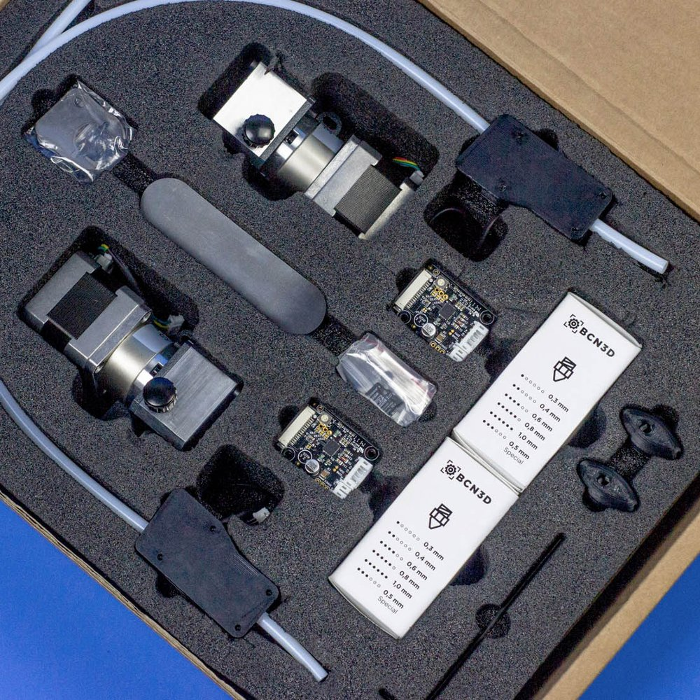 The BCN3D Sigma R19 upgrade kit for the Sigma R17