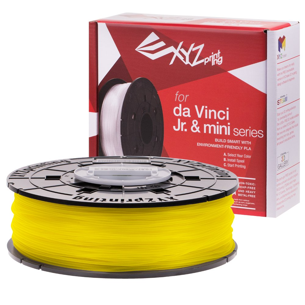 XYZ Yellow Da Vinci Junior PLA