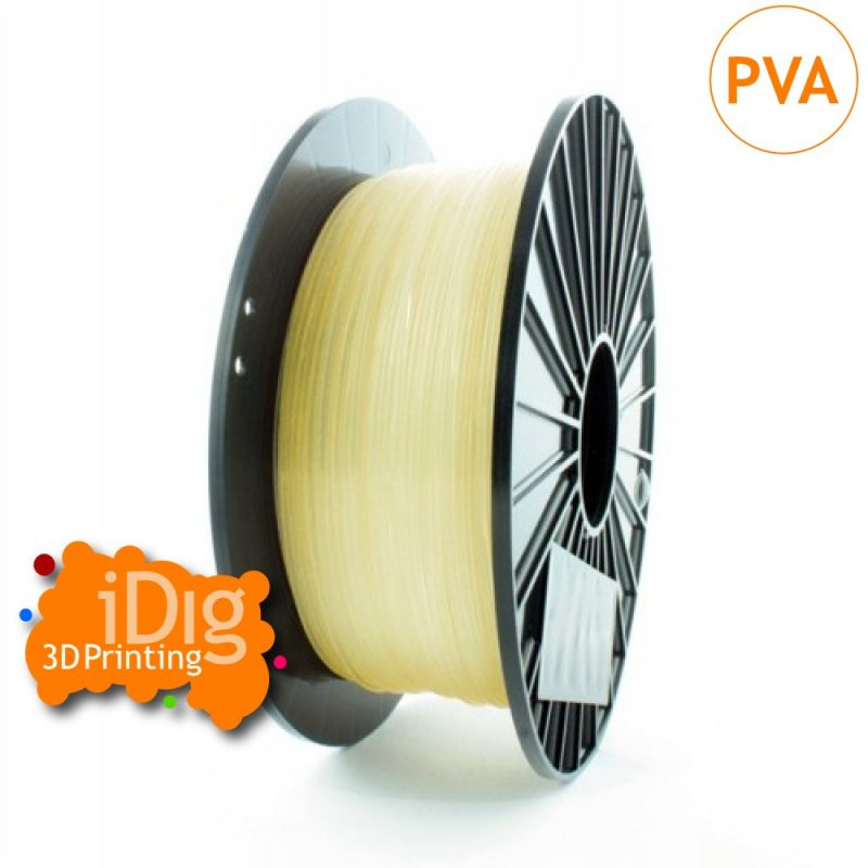 PVA water soluble 3d printer support filament