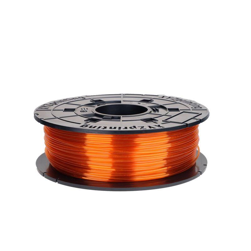 XYZ printing NFC tag Clear Tangerine PTEG filament