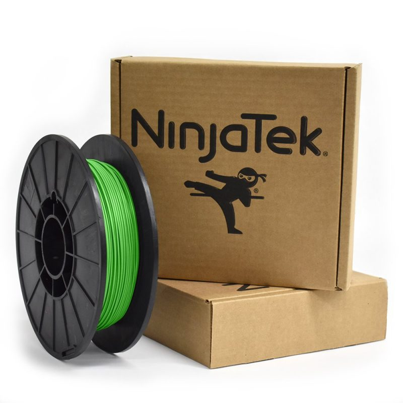 Ninjatek grass green cheetah flexible filament